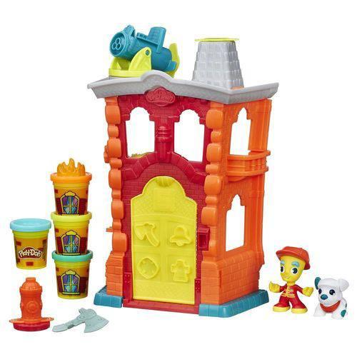 Conjunto Play-Doh Town Quartel de Bombeiro - Hasbro