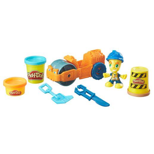 Conjunto Play Doh Town Rolo Compressor - Hasbro