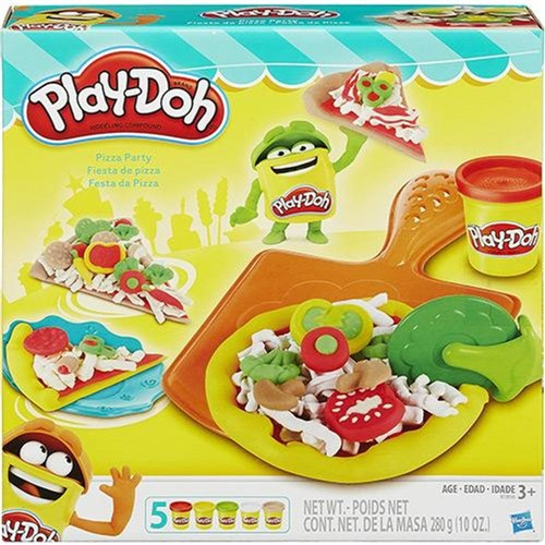 Conjunto Playdoh Festa da Pizza Hasbro