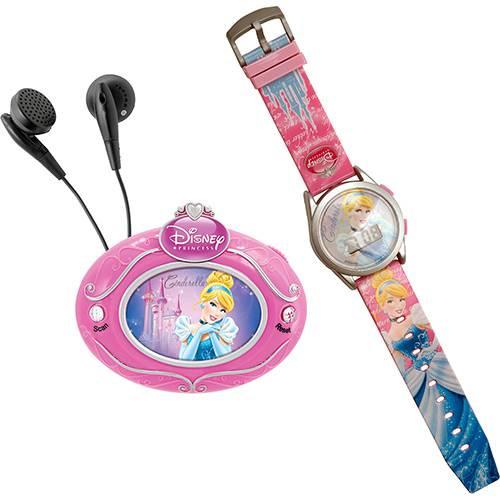 Conjunto Rádio FM + Relógio Digital Cinderela - Candide