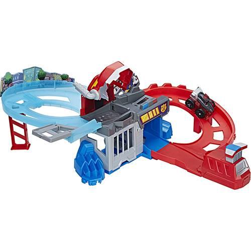 Conjunto Transformers Rescue Bots Pista de Corrida Optimus - Hasbro
