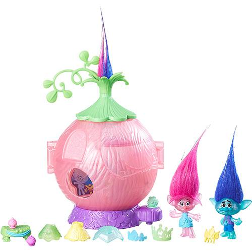 Conjunto Trolls Town Coroação - Hasbro