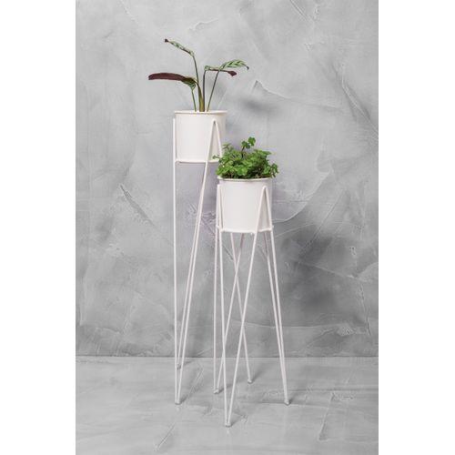 Conjunto 2 Vasos Tripe Branco
