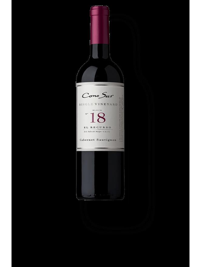 """Cono Sur Single Vineyard Cabernet Sauvignon Block 18 """"El Recurso"""" 2016"""