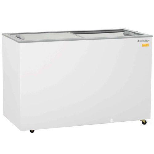 Conservador/Refrigerador Horizontal Gelopar 340 Litros Dupla Ação 127V, Branco