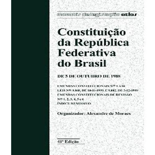 Constituicao da Republica Federativa do Brasil - 41 Ed