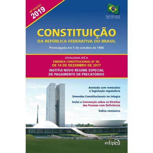 Constituicao da Republica Federativa do Brasil - Edipro