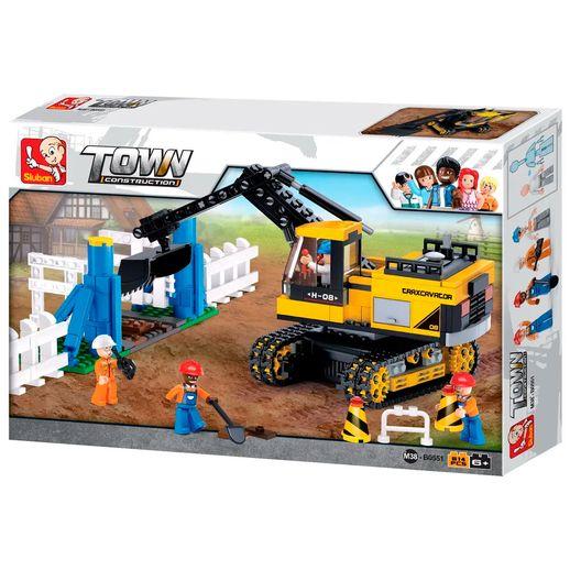 Construção Escavadeira 614 Peças - Multikids