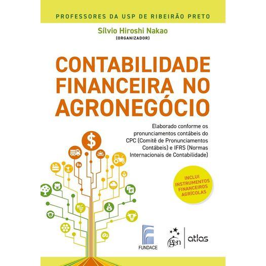Contabilidade Financeira no Agronegocio - Atlas