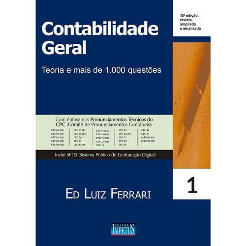 Contabilidade Geral - 15ª Edição (2018)