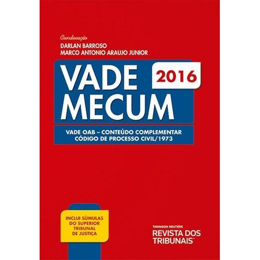Conteudo Complementar Vade Mecum 2016 - Rt - 8 Ed