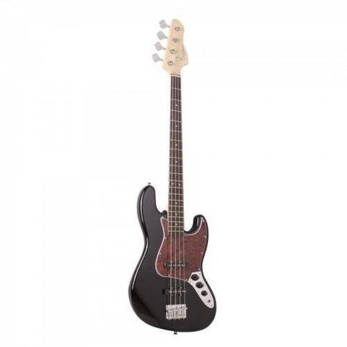 Contrabaixo Elétrico Jazz Bass 4 Cordas Gb 100 Preto/ Turtle Giannini