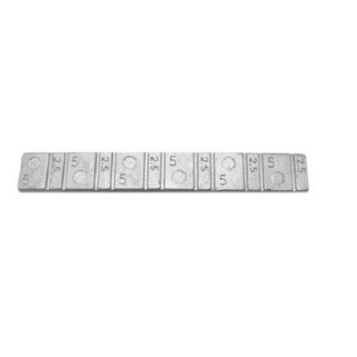 Contrapeso Pastilhado Chumbo Extra-baixo 30 Gramas 5/2,5 com 50 Peças - Stampjet