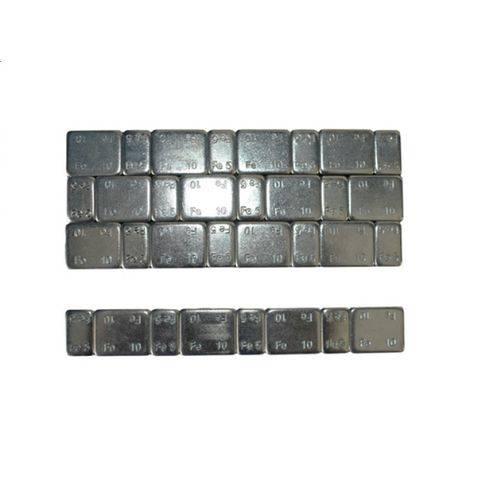 Contrapeso Pastilhado de Aço Extra-baixo 60 Gramas 5/5 com 50 Peças - Assis