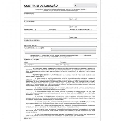 Contrato de Locação - 100 Folhas 150177