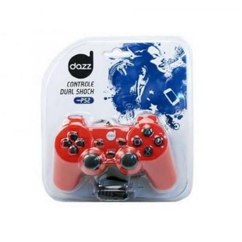 Controle Dazz Ps2 Dual Shock Vermelho Ref.: 621542