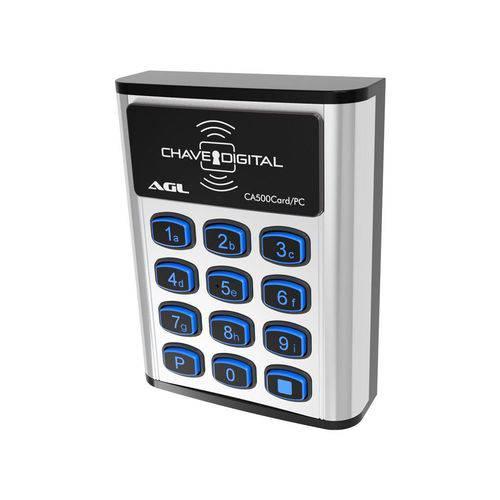 Controle de Acesso AGL Ca500 Card 500 Senhas com Acesso Card ou Tag