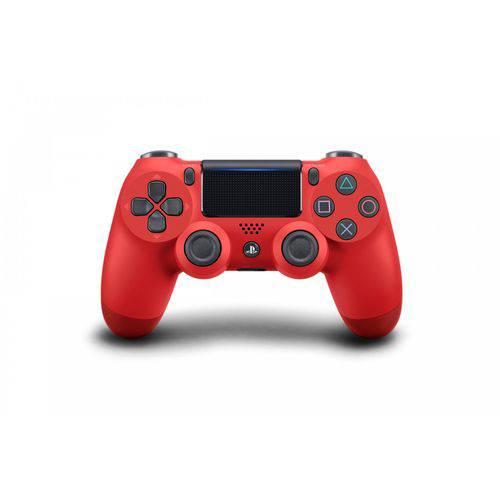 Controle Dualshock 4 Ps4 Vermelho Jet