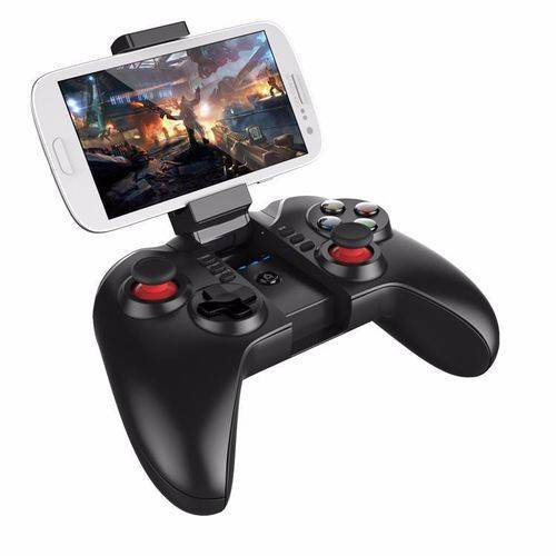 Controle Joystick para Celular Bluetooth Turbo Tomahawk PG-9068 Preto - Ipega