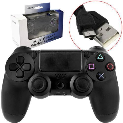 Controle Joystick Sem Fio Playstation 4 Dualshock Ps4