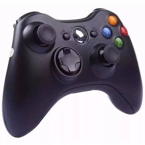 Controle Joystick Sem Fio Xbox 360 Preto Knup KP-5122