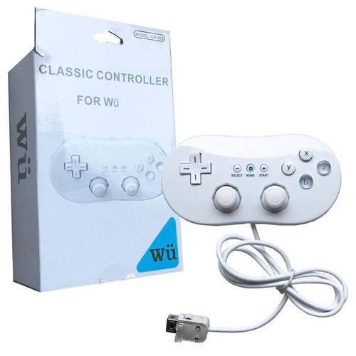 Controle Joystick Wii Classic para Nintendo Wii Wiiu Feir Fr-003