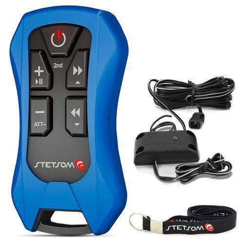 Controle Longa Distância Stetsom Sx4 Alcance Control - Azul