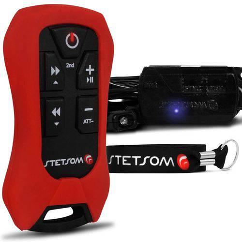 Controle Longa Distância Stetsom Sx4 Alcance Control - Vermelho
