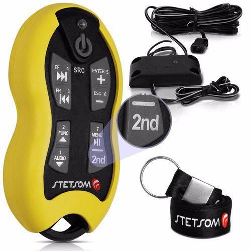 Controle Longa Distância Sx2 16 Funções Amarelo 500 Metros - Stetsom