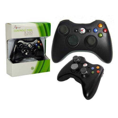 Controle para Xbox 360 Sem Fio Kp-5122 Kp-5122 Knup