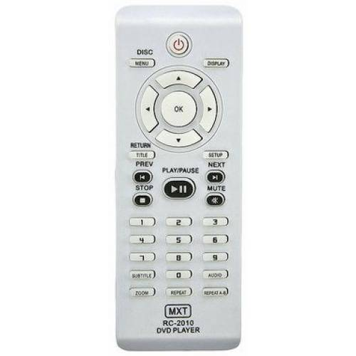 Controle Philips Rc-2010 Dvp3020 (Sem Karaokê) C0771