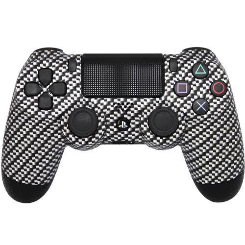 Controle Playstation 4 Dash Pró Carbon