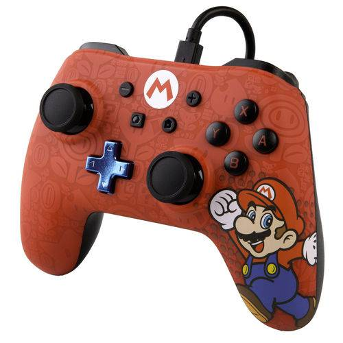 Controle Powera Wired Mario Nintendo Switch
