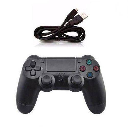 Controle Ps4 Playstation 4 Sem Fio Dualshock Wireless Video Game Pc USB Original Knup