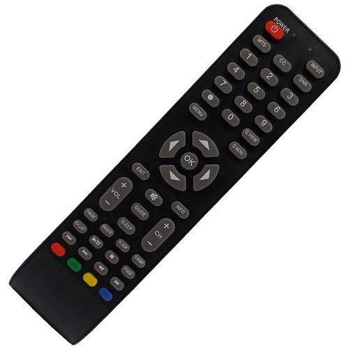 Controle Remoto Compatível Tv Led H-buster