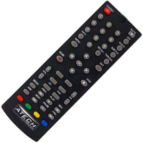 Controle Remoto Conversor Digital Vii7 Dtvb003