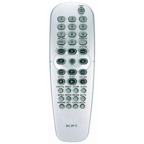 Controle Remoto Dvd Philips Rc2k12