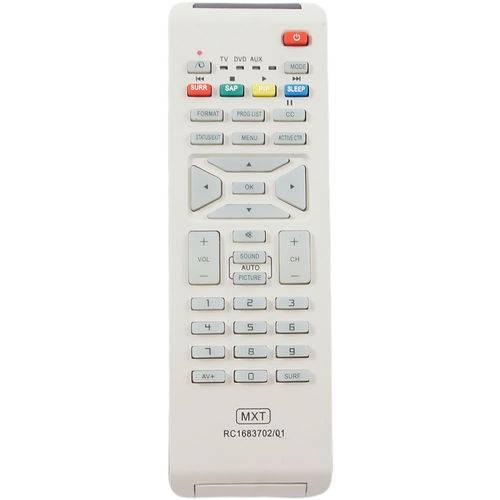 Controle Remoto LCD Philips RC1683702/01
