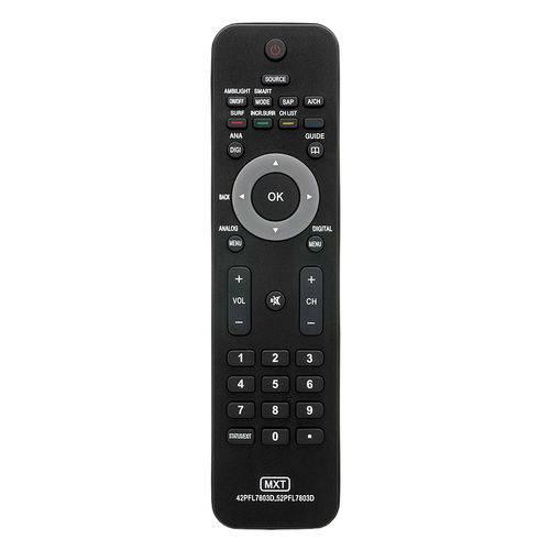 Controle Remoto Mxt 01179 Philips 42pfl7803d/ 52pfl7803d Lcd