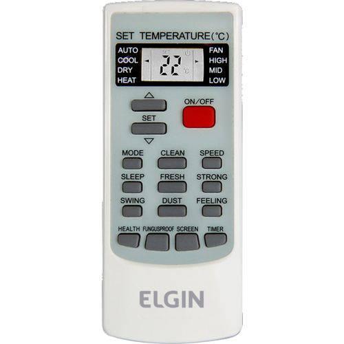 Controle Remoto para Ar Condicionado Elgin