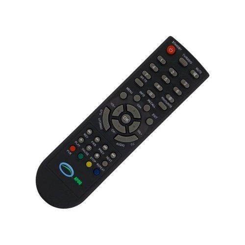 Controle Remoto para Conversor Digital Dtv-8000 Preto - AQUÁRIO