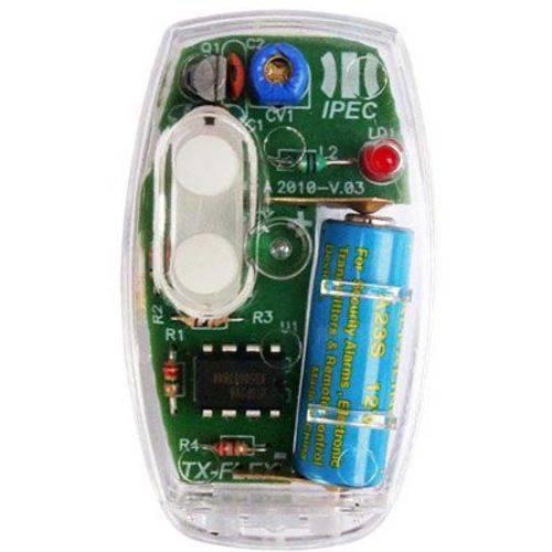 Controle Remoto para Portões e Alarmes Tx Flex com Alça Ipec - Ipec