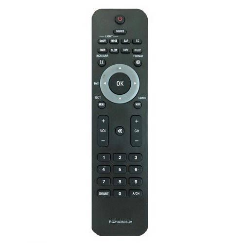 Controle Remoto para Tv Philips Rc2143608-01