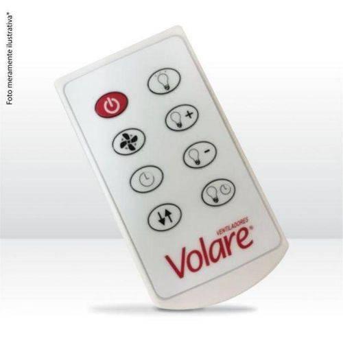 Controle Remoto para Ventilador de Teto Volare e Ventax 127v