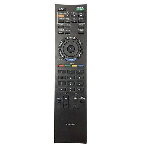 Controle Remoto Tv LCD / Led Sony Bravia Rm-yd047 Kdl40ex505