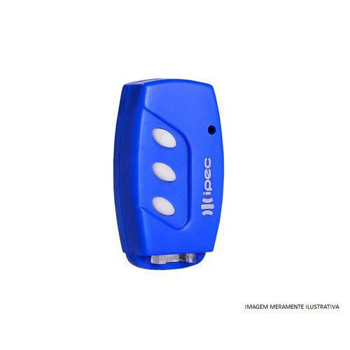 Controle Remoto Tx Deco 433mhz Ipec Azul