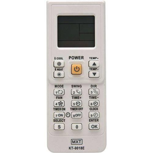 Controle Remoto Universal para Ar Condicionado KT-9018E MXT