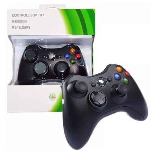 Controle Sem Fio para Xbox 360 Slim / Fat Joystick Wireless