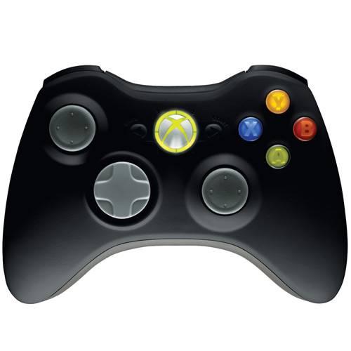 Controle Sem Fio Xbox 360 (preto)