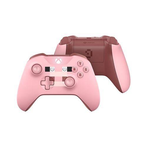 Controle Sem Fio Xbox One – Minecraft Pig